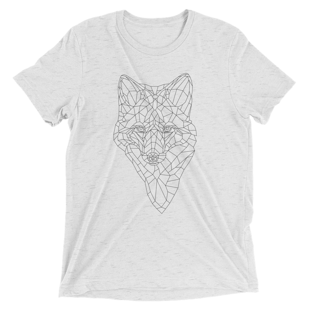 Men's Bare Bones Polygon Fox T-Shirt