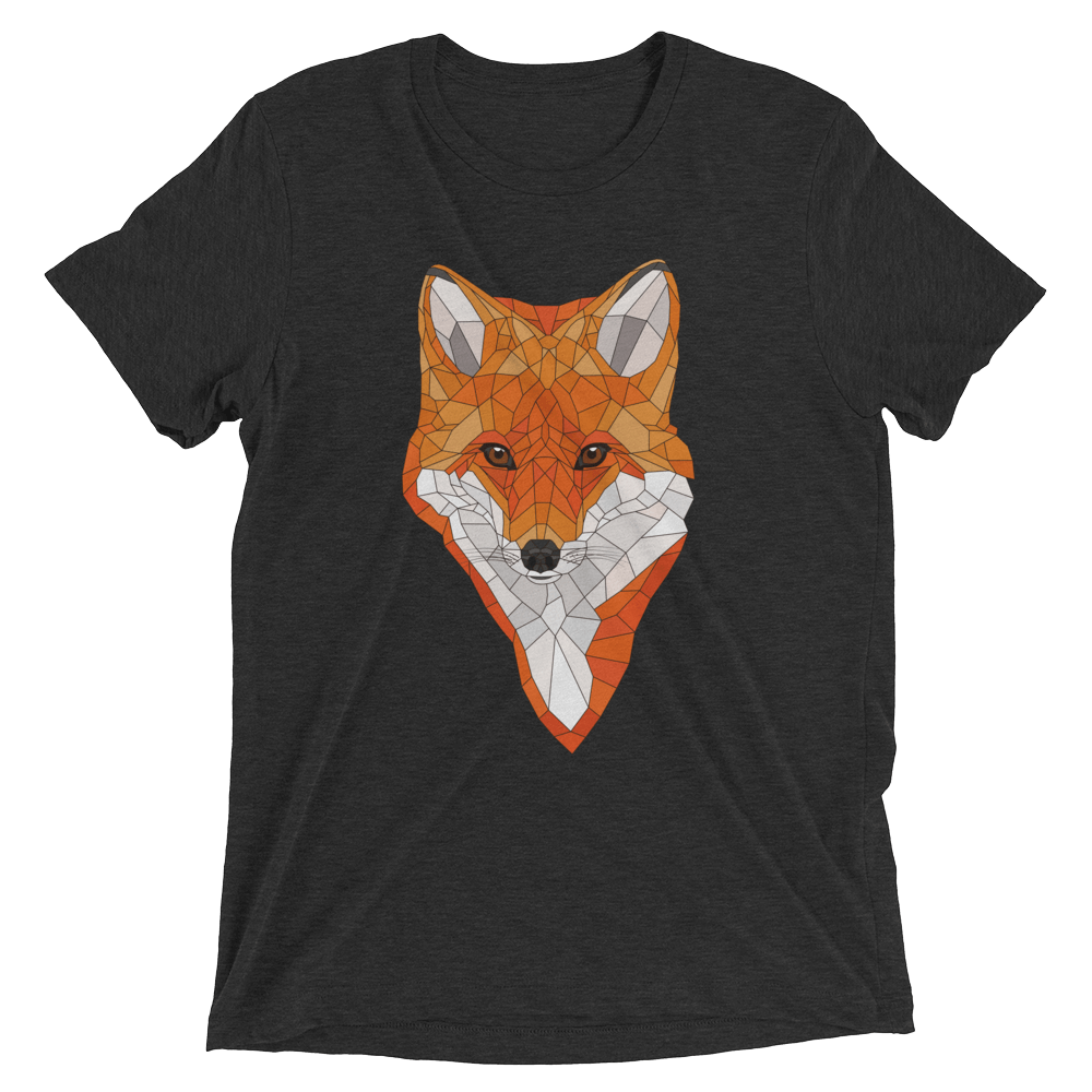 Men's Accentuated Polygon Fox T-Shirt