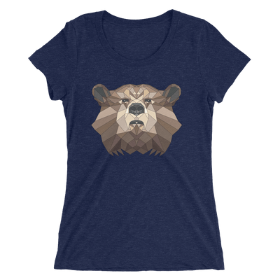 Women's Accentuated Polygon Bear T-Shirt
