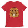 Men's Accentuated Polygon Lion T-Shirt