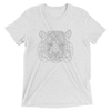 Men's Bare Bones Polygon Tiger T-Shirt