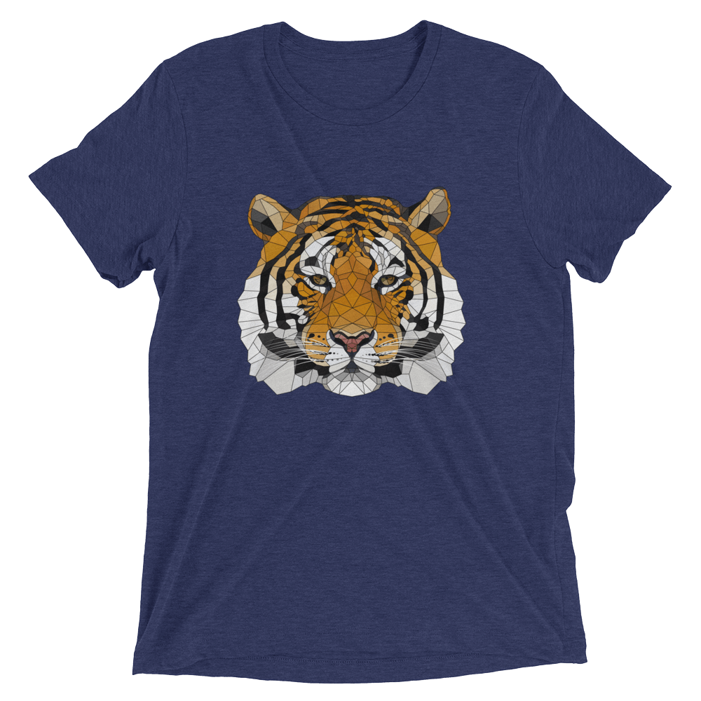 Men's Accentuated Polygon Tiger T-Shirt
