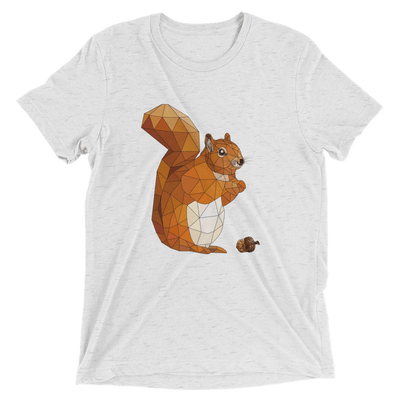 Men's Accentuated Polygon Squirrel T-Shirt
