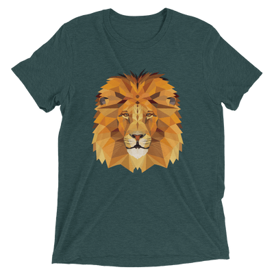 Men's Polygon Lion T-Shirt