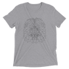 Men's Bare Bones Polygon Lion T-Shirt