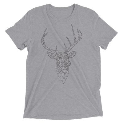 Men's Bare Bones Polygon Deer T-Shirt