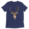 Men's Accentuated Polygon Deer T-Shirt