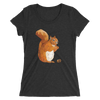 Women's Accentuated Polygon Squirrel T-Shirt