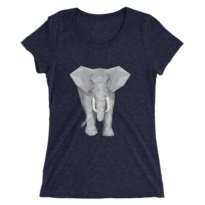 Women's Polygon Elephant T-Shirt