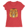 Women's Accentuated Polygon Lion T-Shirt