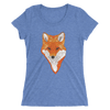 Women's Accentuated Polygon Fox T-Shirt