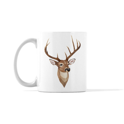 Deer Holiday Mug