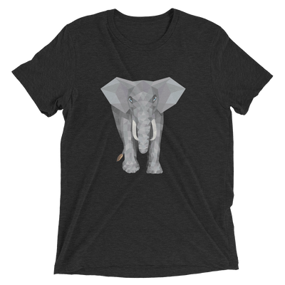 Men's Polygon Elephant T-Shirt