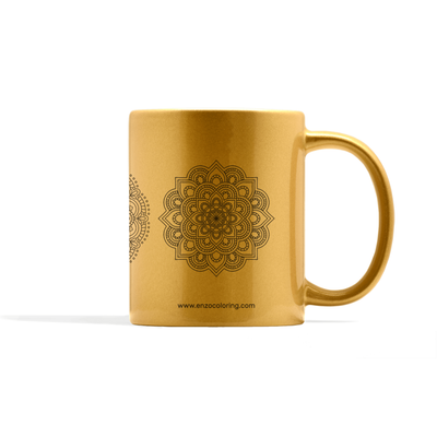 Metallic Mandala Set Number 1 Mug