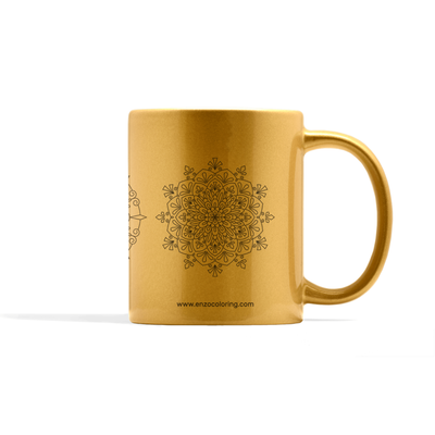 Metallic Mandala Set Number 2 Mug