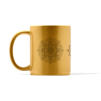 Metallic Mandala Set Number 3 Mug
