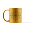 Metallic Mandala Number 1 Mug