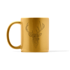 Metallic Deer Mug