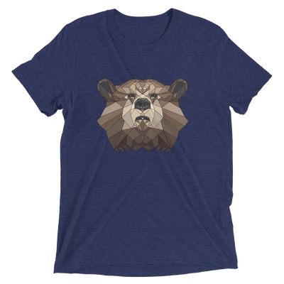 Men's Accentuated Polygon Bear T-Shirt