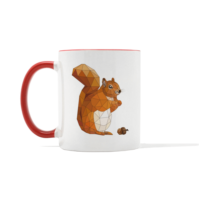 Accentuated Squirrel Mug