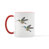 Hummingbird Couple Mug
