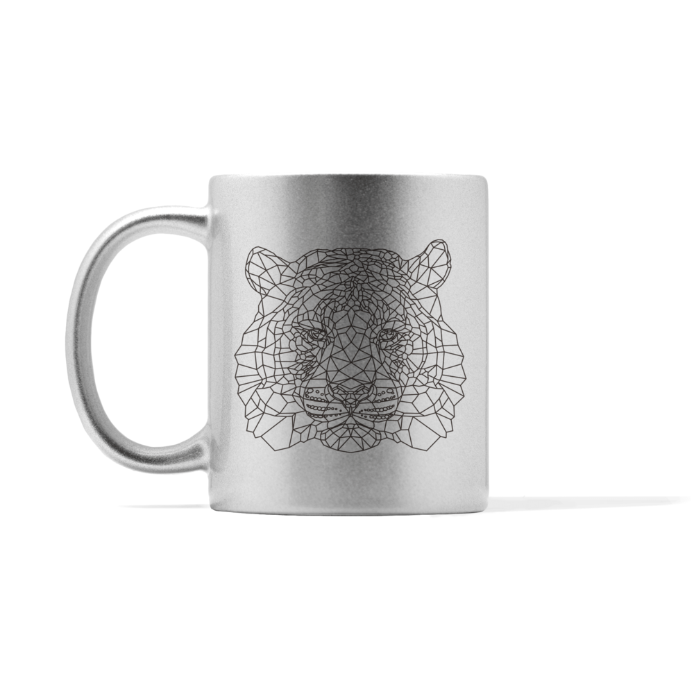 Metallic Tiger Mug
