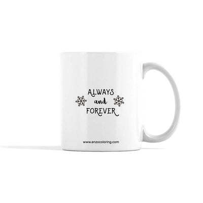 Accentuated Polar Bears Holiday Mug