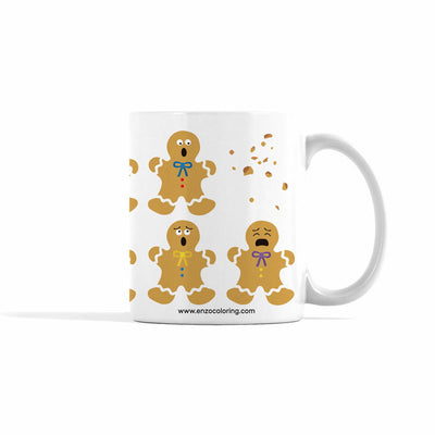 Gingerbread Men Mug