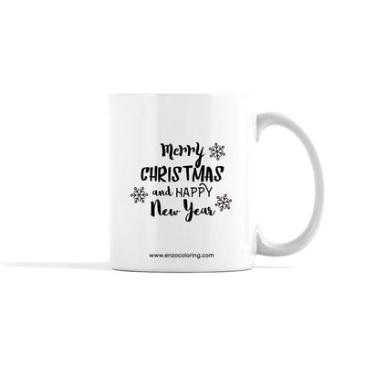 Accentuated Deer Holiday Mug