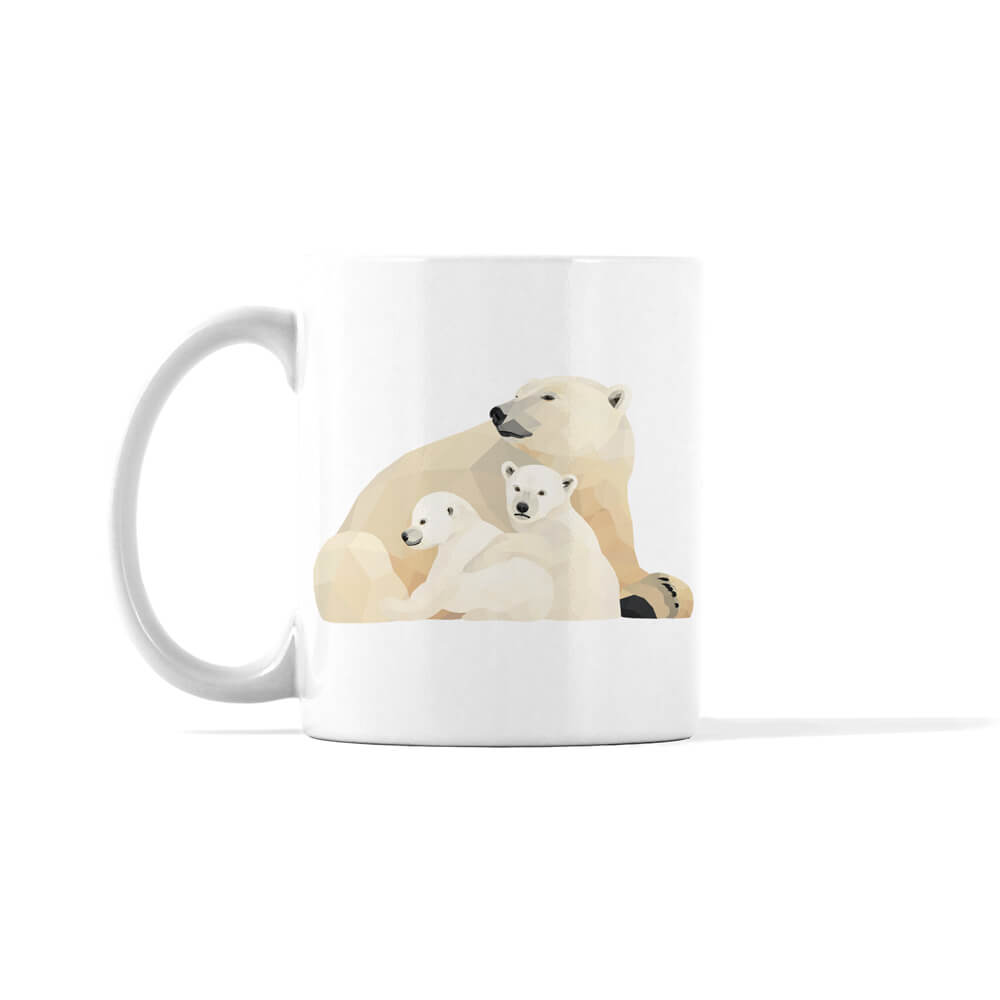 Polar Bears Holiday Mug