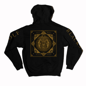 YELAWOLF BLACKSHEEP PULLOVER BLACK