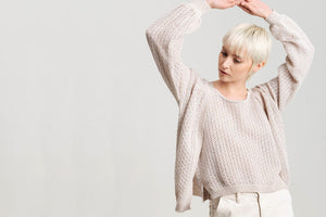 hand made knitwear, cardigan in organic cotton gots certificate, sustainability knitwear hand made in Italy