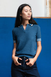 POPPY- ORGANIC COTTON POLO SHIRT