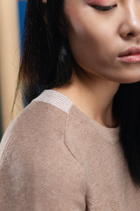 Anemone  - Organic Cotton round neck jumper