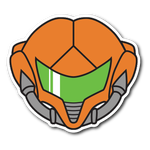 Metroid Zero Mission Vinyl Sticker