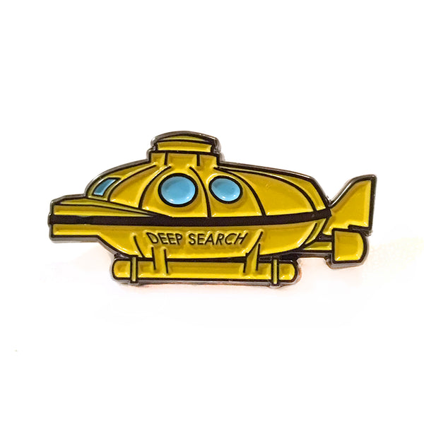 Deep Search Submarine Enamel Pin