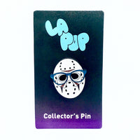 Horror Nerd Enamel Pin