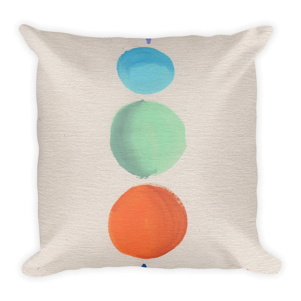 Mid-Century Modern Stacks Spheres Pillow