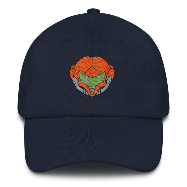 Metroid Zero Mission Dad Hat