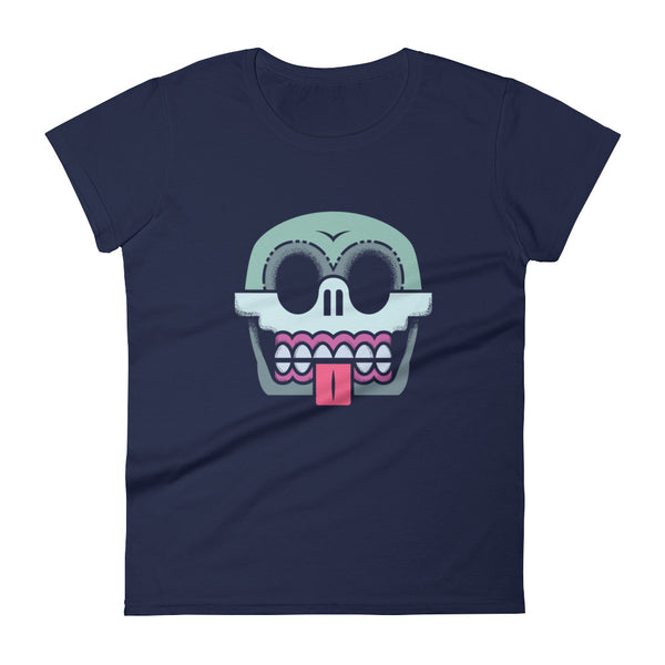 Skull-O Fitted T-Shirt