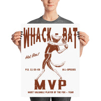 Fantastic Mr. Fox Whack-Bat MVP Poster