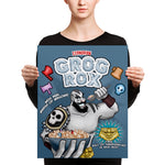 Exandrian Grog Rox Cereal Canvas Print