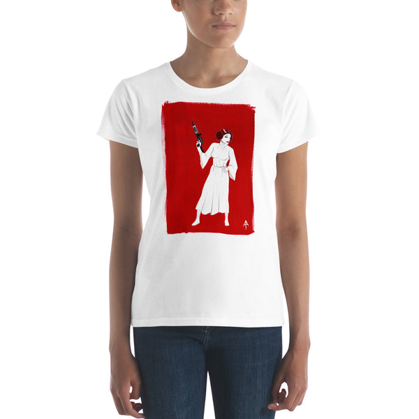 Rebel Princess Fitted T-Shirt