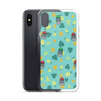 Super Moai Bros. Aloha iPhone Case