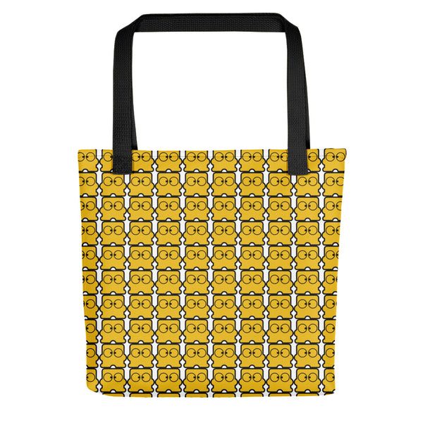 Diskun Pattern Tote Bag