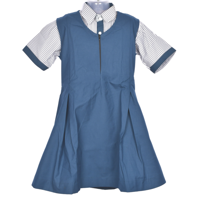 Girls Uniform Set ( Pinafore, Skirt & Shirt)
