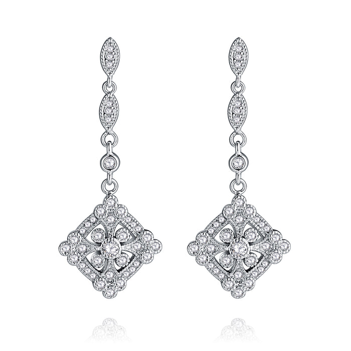 Art Deco Vintage Chandelier Earrings