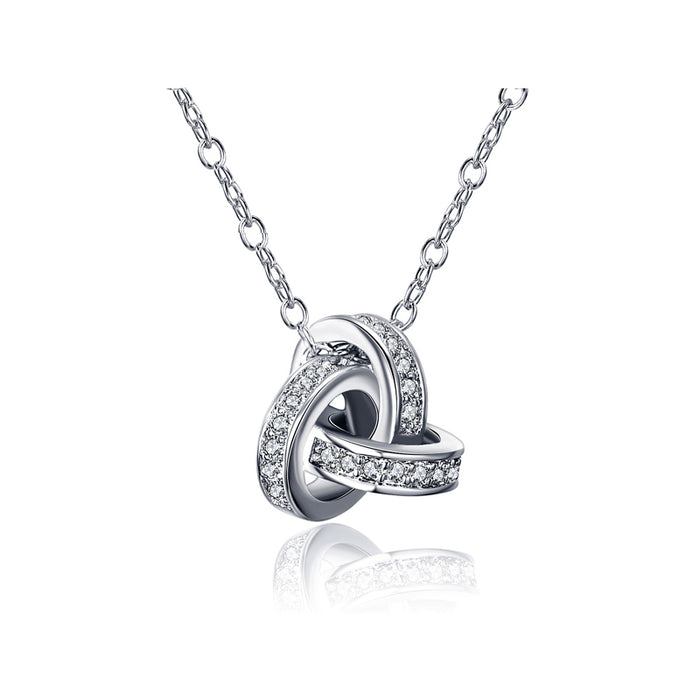 Love Knot Pendant Necklace