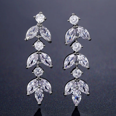 Marquise Dangle Earrings for Women