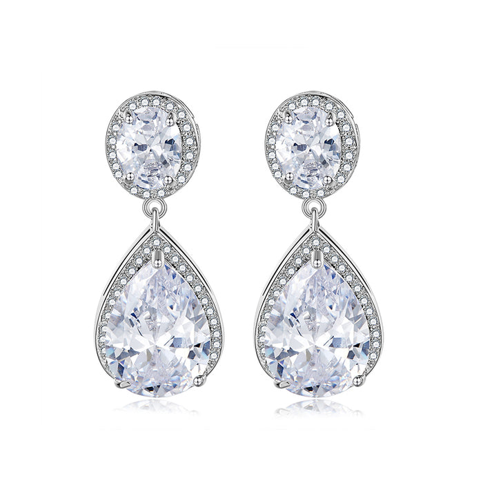 Bijoux Teardrop Dangle Earrings for Wedding